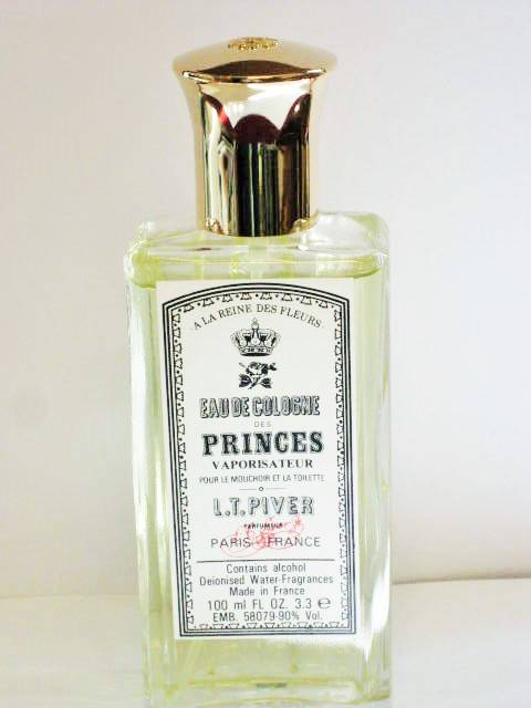 L.t Piver Des Princes Cologne spray-100ml-90% Alcohol vol.