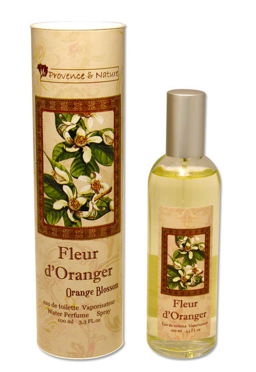 Provence&Nature Fleur d, Orange Eau de Toilette Spray-100ml-Box