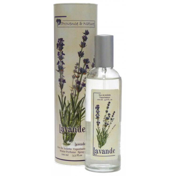Provence&Nature Lavendel Eau de Toilette Spray 100ml-Box