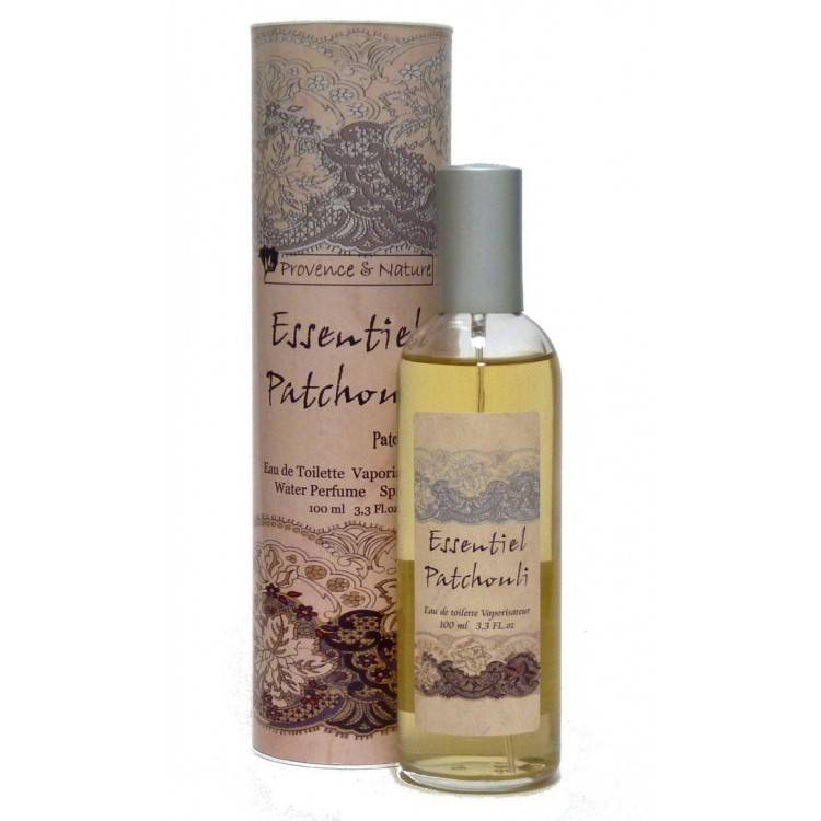 Provence&Nature Essentiel Patchouli Eau de Toilette Spray-100ml-Box