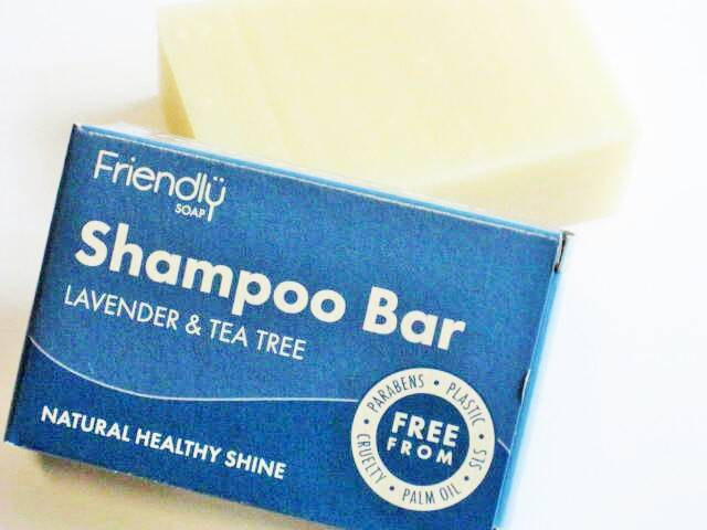 Friendly Vegan Lavender&Tea tree shampoo bar-95 gram
