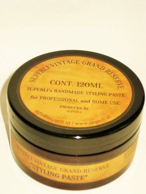 Superli Handmade Styling Paste 120ml-Stevige houdbaarheid.