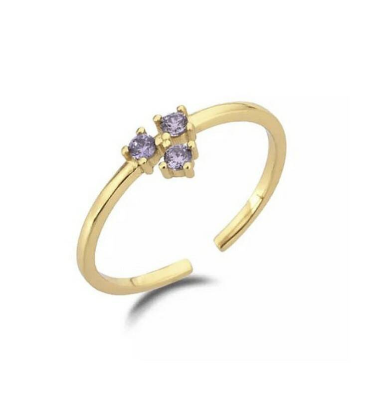 FOR THE NIGHT LILAC RING
