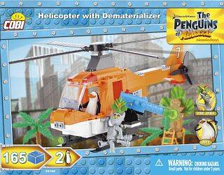 Helicopter with Dematerializer