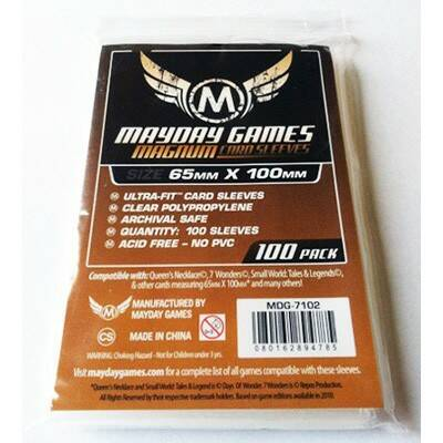 Magnum Ultra Fit Sleeves (65x100)