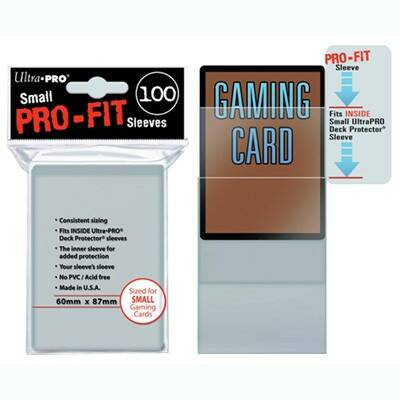 Sleeves Pro-fit Clear Small