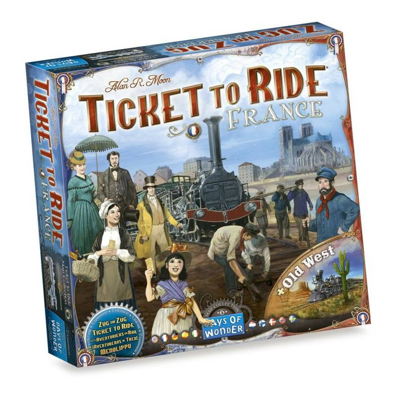 Ticket to Ride: France / Old West