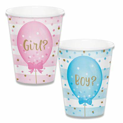 beker gender reveal 266 ml