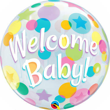 bubbles welcome baby
