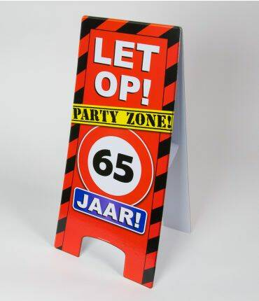 warning sign 65 jr