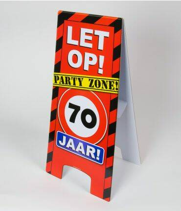 warning sign 70 jr
