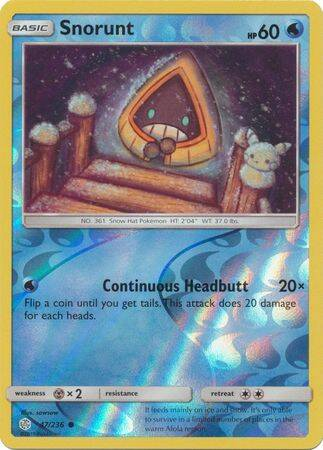 Snorunt 47/236 - Cosmic Eclipse - Common Reverse Holo