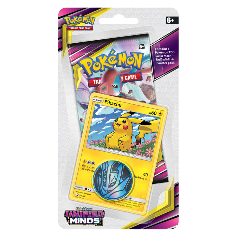 Sun & Moon Unified Minds Blister Pikachu