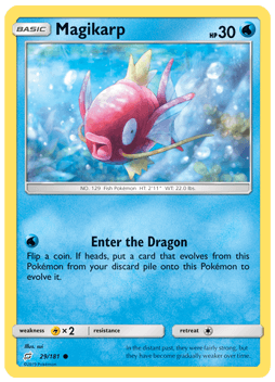 Magicarp - 29/181 - S&M TeamUp - Common