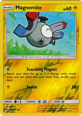 Magnemite -34/131- S&M Forbidden Light - Common Reverse Holo