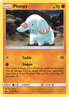 Phanpy - 72/168 - S&M Celestial Storm - Common