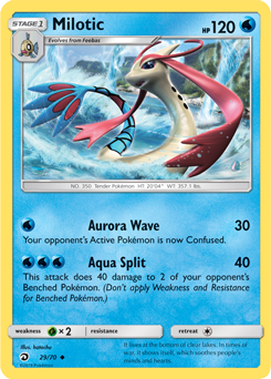 Milotic - 29/70 - S&M Dragon Majesty - Uncommon