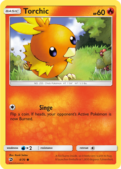 Torchic - 4/70 - S&M Dragon Majesty - Common