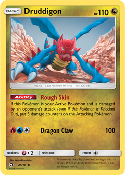 Druddigon - 45/70 - S&M Dragon Majesty - UNcommon