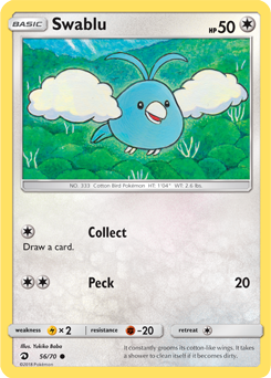 Swablu - 56/70 - S&M Dragon Majesty - Common