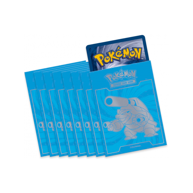 Evolutions Mega Blastoise Sleeves (65 stuks)