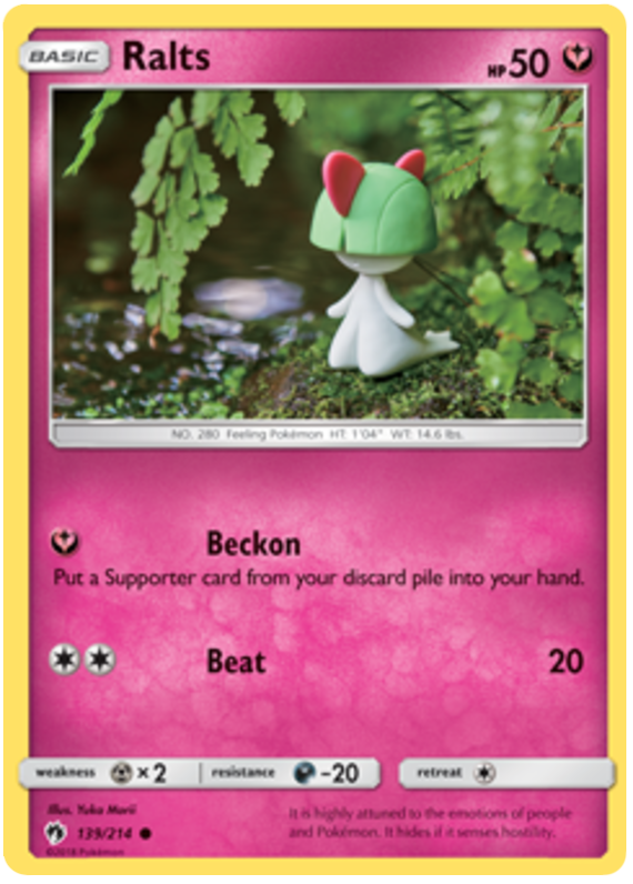 Ralts - 139/214 - S&M Lost Thunder - Common