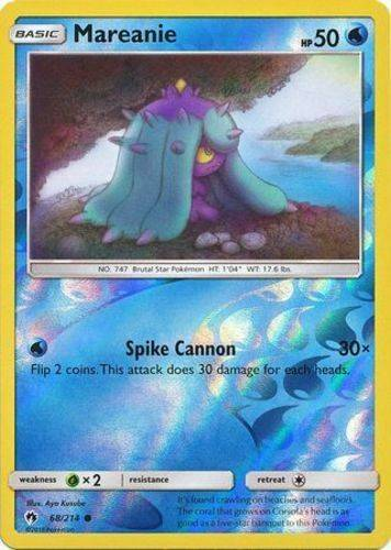 Mareanie - 68/214 - S&M Lost Thunder - Common Reverse Holo