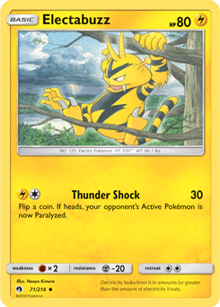 Electabuzz - 71/214 - S&M Lost Thunder - Uncommon