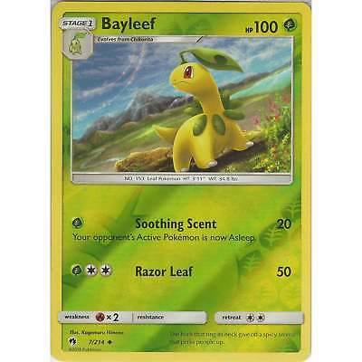 Bayleef - 7/214 - S&M Lost Thunder - Uncommon Reverse Holo