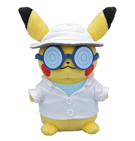 Officiële Pokémon Center Pikachu Assistent Plush