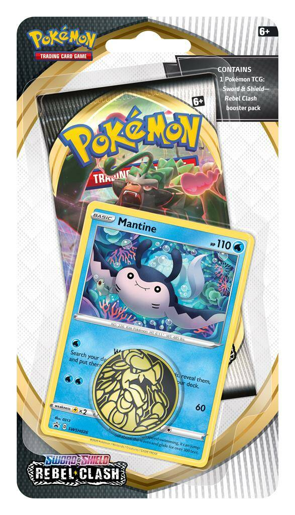 Sword and Shield - Rebel Clash - Mantine Blister