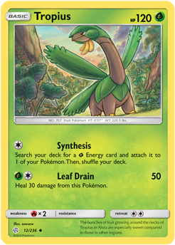 Tropius 12/236 - Cosmic Eclipse - Uncommon