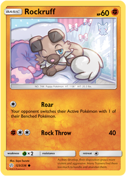Rockruff 123/236 - Cosmic Eclipse - Common