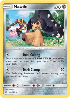Mawile 140/236 - Cosmic Eclipse - Uncommon