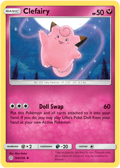 Clefairy 144/236 - Cosmic Eclipse - Uncommon