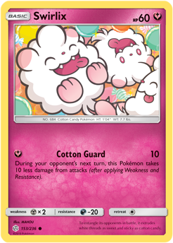 Swirlix 153/236 - Cosmic Eclipse - Common