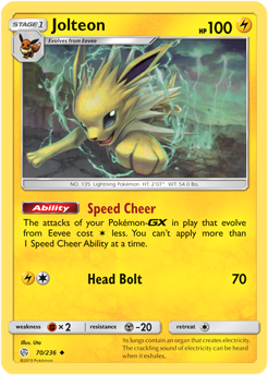 Jolteon 70/236 - Cosmic Eclipse - Uncommon