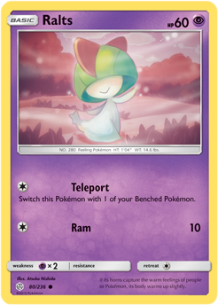 Ralts 80/236 - Cosmic Eclipse - Common