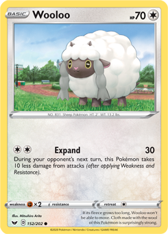 Wooloo 152/202 - Sword & Shield - Common