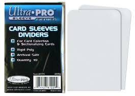 Ultra-Pro Card Sleeves Dividers