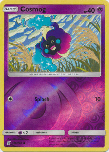 Cosmog -100/236- S&M Unified Minds - Common Reverse Holo