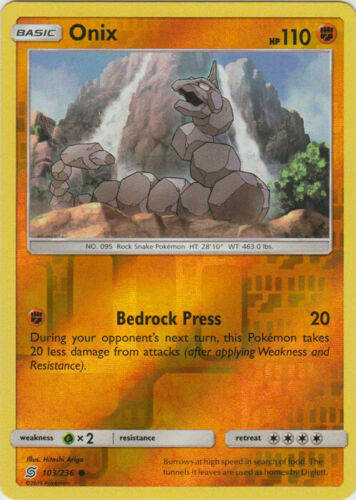 Onix -103/236- S&M Unified Minds - Common Reverse Holo
