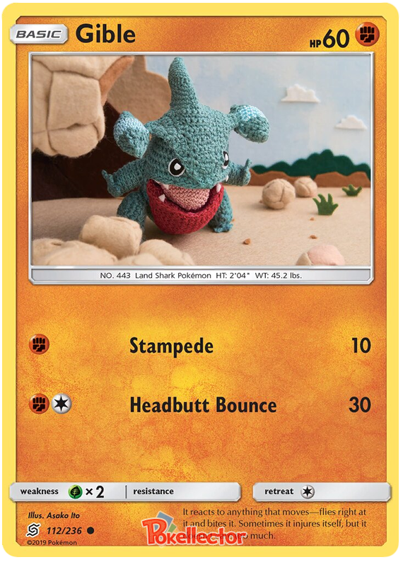 Gible -112/236- S&M Unified Minds - Common