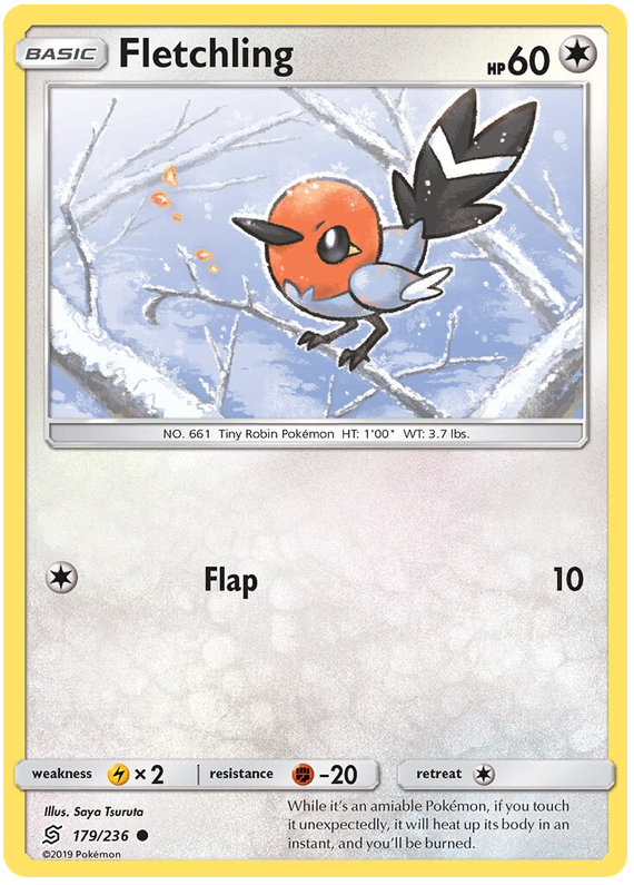 Fletchling -179/236- S&M Unified Minds - Common