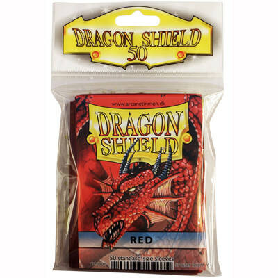 Sleeves Dragon Shield - Standard - Red (50 stuks)