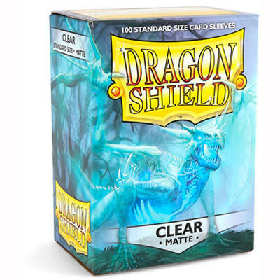 Sleeves Dragon Shield Matte - Standard - Clear (100 stuks)