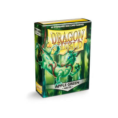 Sleeves Dragon Shield Matte Apple Green (60 stuks)