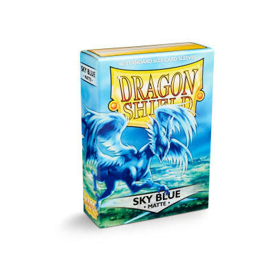 Sleeves Dragon Shield Matte Sky Blue (60 stuks)