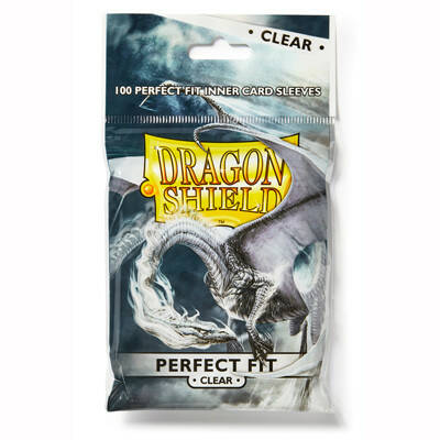 Sleeves Dragon Shield Perfect Fit Clear/Clear (100 stuks)