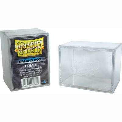 Deckbox Dragon Shield - Clear